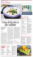 Matéria de gastronomia para a seção Boa Mesa, do jornal A Cidade (28/8/2015)