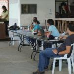 Frontliners, pinulong ng MIATF kaugnay sa travel restrictions sa bayan ng San Vicente