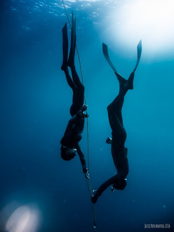 freediving in Palawan