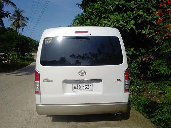 Palawan Private Shuttle Van