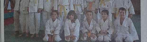 Lezioni di judo nella palestrina riaperta a Cordenons