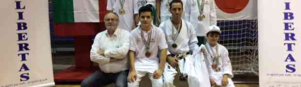 Campionati nazionali libertas karate tradizionale 8/9 novembre Rimini