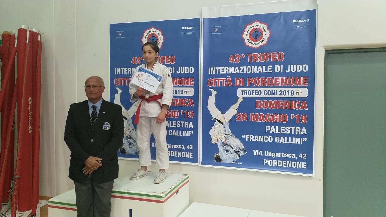 Laura Covre sul podio al 43° Trofeo Internazionale Città di Pordenone