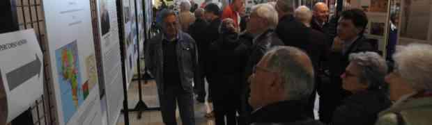 La grande inaugurazione della mostra su Don Romano
