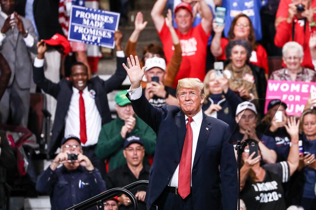 Pal Bulletin Press: Trump speaks from the alamo