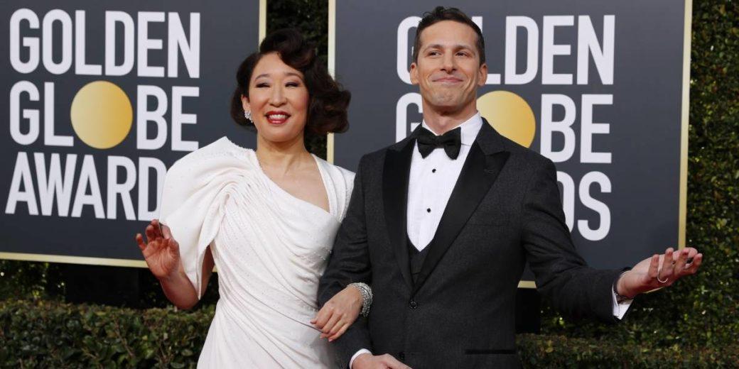 Sandra Oh e Andy Samberg apresentaram o Globo de Ouro 2019