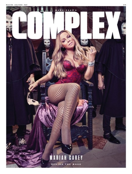 Mariah Carey dá entrevista para complex
