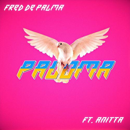 Capa de Paloma parceria de Fred de Palma com Anitta