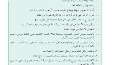 Photo of دليل تنفيذ مبحث التربية الوطنية والحياتية للصف الثاني الفصل الأول