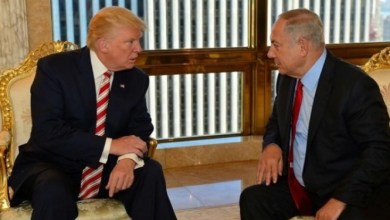 صورة نتنياهو وترامب بحثا الملف السوري والإيراني خلال اجتماع بينهما