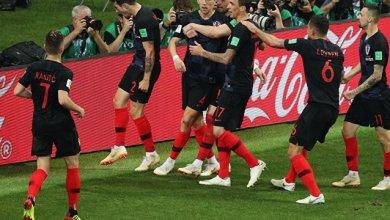 صورة كرواتيا إلى نهائي كأس العالم بعد فوزها على إنجلترا