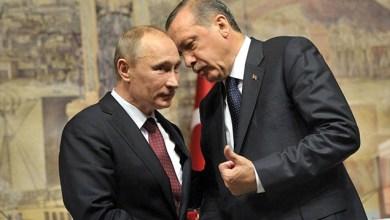 صورة إردوغان لبوتين : اتفاق آستانة مهدد حال ضربت القوات السورية إدلب