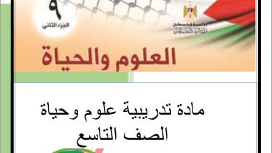 Photo of المجمع الأضخم للمواد الإثرائية والملخصات لكافة مواد الصف التاسع الفصل الثاني