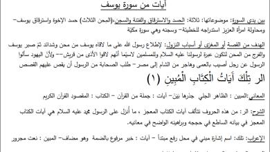 صورة شرح مفصل وهام جدا لكافة النصوص الشعرية والنثرية لمبحث اللغة العربية للتوجيهي