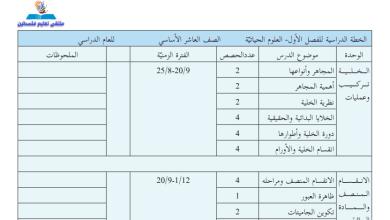 Photo of الخطة الفصلية المقترحة لمبحث الأحياء للصف العاشر الفصل الأول 2019-2020