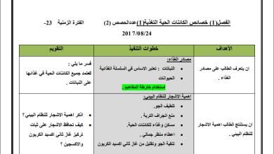 Photo of مجمع تحاضير المعلم لكافة المواد الدراسية للصف السابع الفصل الأول