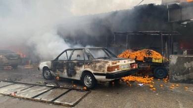 صورة تقرير حصري عن عدد الوفيات والجرحى والأضرار الناجمة عن حريق النصيرات