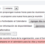 Outlook 2010 Calendario: campana de aviso en las citas