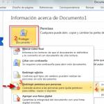 Office 2010: Information Rights Management (IRM) o restringir permisos