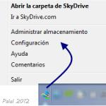 SkyDrive aplicación de escritorio y otros dispositivos