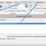 Excel 2013 | PowerPivot – Complementos COM