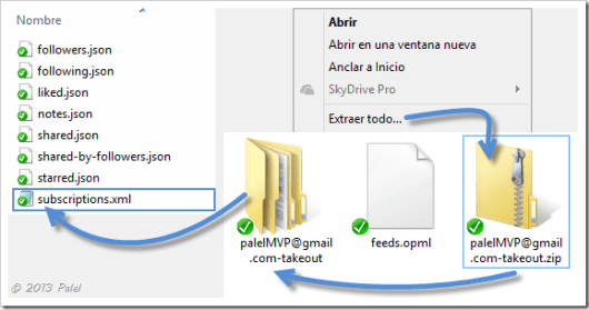 Fuentes RSS en Outlook 6