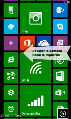 Windows Phone  - Configuración