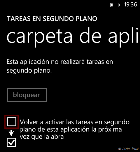 Imagen 7 - Windows Phone: tareas en segundo plano