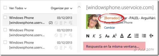 Outook.com - Novedades - Palel.es