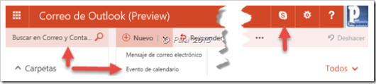 Outlook.com beta - palel.es