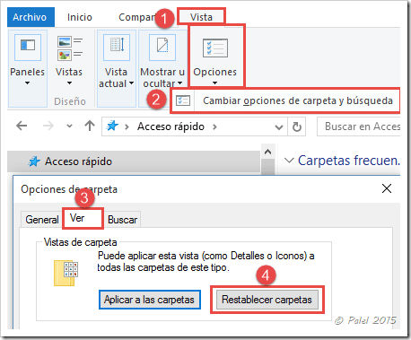 Windows 10 - Acceso rápido - palel.es