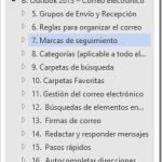 Curso de Outlook | Capítulo B Subcapítulo 7: Marcas de seguimiento