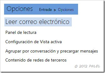 Outlook.com - Opciones de correo - Leer correo electrónico