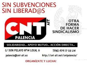 logo CNT Palencia
