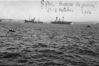 610-Los-buques-Almirante-Cervera-y-Jaime-I.-Con-sus-potentes-cañones-bombardearon-a-placer