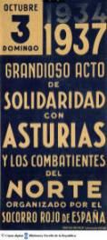 CARTEL ACTO SOLIDARIDAD ASTURIAS