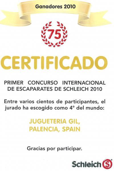 Juguetería Gil, campeón en concurso internacional de escaparates