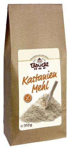 Bauckhof Kastanienmehl, 2er Pack  (2 x  350 g Tüte) - Bio - 1