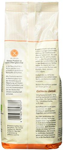 Bauckhof Kastanienmehl glutenfrei, 2er Pack (2 x 350 g) - Bio - 4