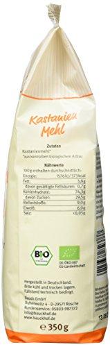 Bauckhof Kastanienmehl glutenfrei, 2er Pack (2 x 350 g) - Bio - 5