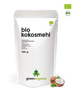 BIO KOKOSMEHL   Low-Carb Backen   Glutenfrei   Vegan   Entölt   Proteinreich   Ballaststoffreich   Paleo Superfood   Premium  Nachhaltig und Fair angebaut   Diät   1000g - 1