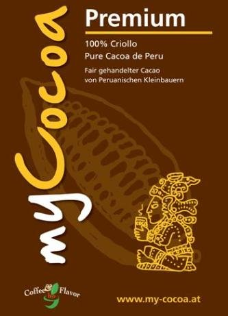 Bio MyCocoa 100% Premium Criollo aus Peru - 250g Dose - 2