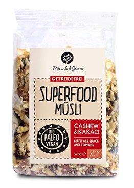 Bio Superfood Müsli Cashew & Kakao - 1