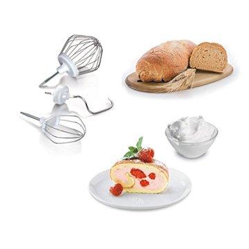 Bosch MUM54251 Küchenmaschine Styline MUM5 (900 Watt, Edelstahl-Rührschüssel inklusiv integriertem Zubehör) - 3