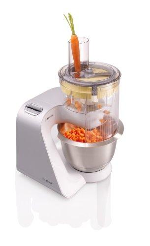 Bosch MUM54251 Küchenmaschine Styline MUM5 (900 Watt, Edelstahl-Rührschüssel inklusiv integriertem Zubehör) - 7