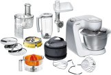 Bosch MUM54251 Küchenmaschine Styline MUM5 (900 Watt, Edelstahl-Rührschüssel inklusiv integriertem Zubehör) - 1