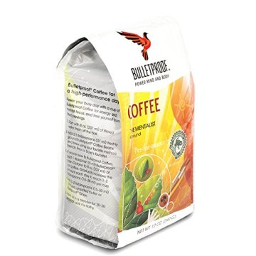Bulletproof 'The Mentalist' Dunkel Gerösteter Gemahlener Kaffee 340g - 8