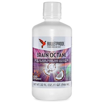 Bulletproof Upgraded Brain Octane Oil (C-8 MCT Öl, 940 ml) -