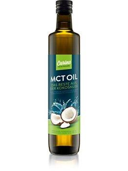 Carino 500ml MCT Öl aus 100% Kokosöl Vegan begünstigt Fettverbrennung geeignet für Bulletproof Coffee geschmacksneutral - 1