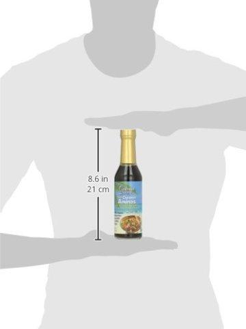 Coconut Geheimnis Raw Coconut Aminos, Soja-Free Gewürz Sauce, 8 Flüssigunzen (237 ml) 1.7 x 1.9 x 7.9 inches - 6